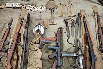 Weapons Collectors course