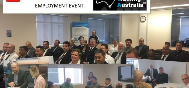 wilson employment event hosted at asset training australia